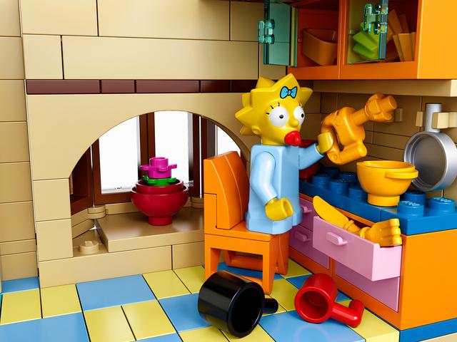 Personagens da série 'Os Simpsons', que ganharão uma versão de Lego