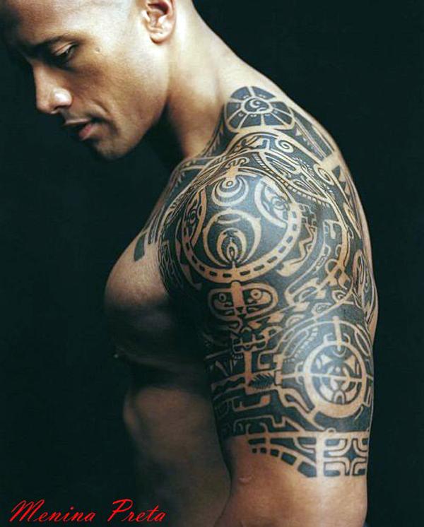Lindas tatuagens para negros