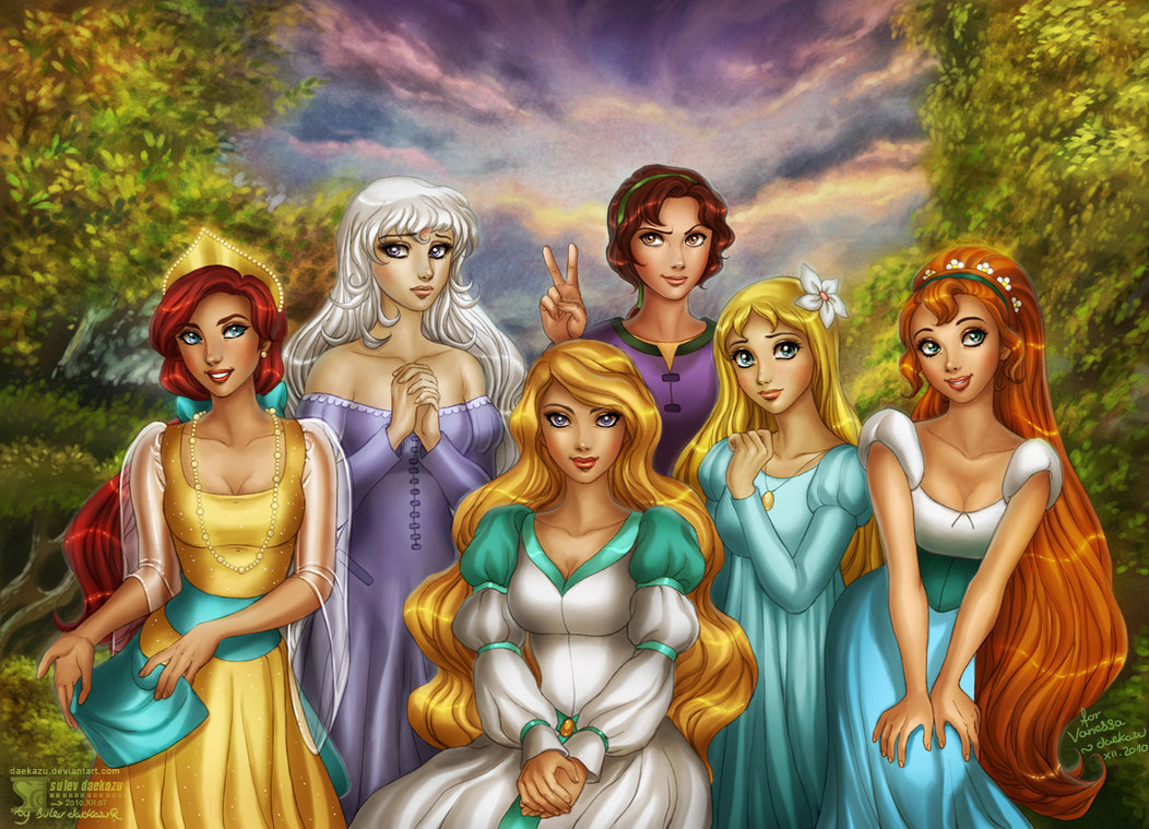 Princesas diferentes