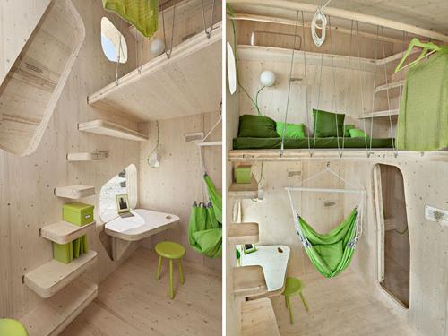 As casas pre-fabricadas se constituem como una excelente solução de moradia.