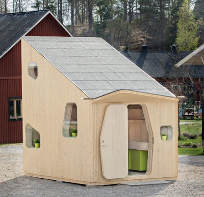 Casas compactas, além de funcionais, são muito charmosas