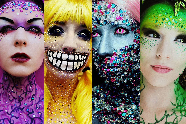 Maquiagens incríveis por Stephanie Fernandez