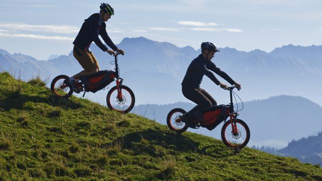 Mountain bike entra, trazendo uma experiência gratificante e permitindo longas distâncias.