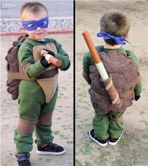 Cosplay do Leonardo, Tartarugas Ninjas