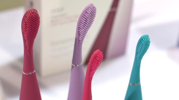 Escova de dentes do futuro