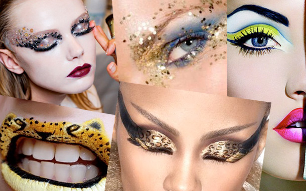 Maquiagem criativa para carnaval