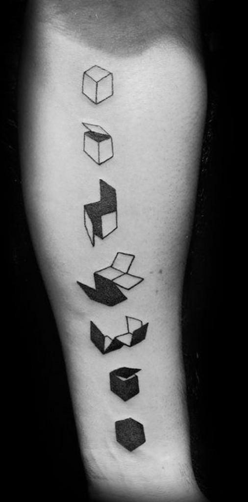 Modelos de Tatuagens geométricas