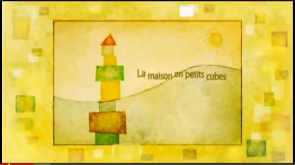 Curta A Casa de pequenos cubos