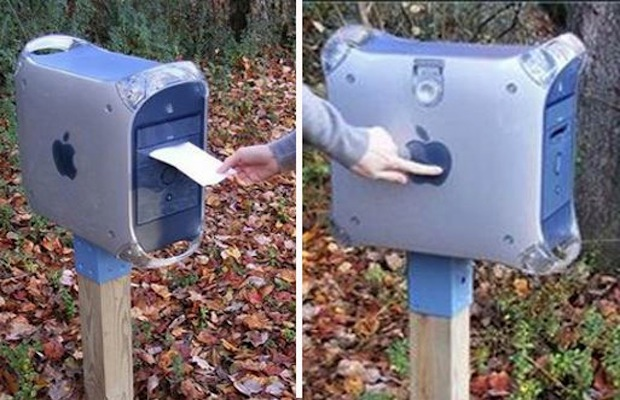 Mac Fag Mail Box! Mega estiloso