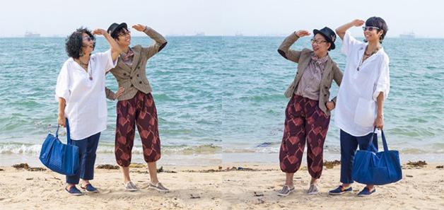 Fotos de filhos trocando de roupa com seus pais por Qozop (3)
