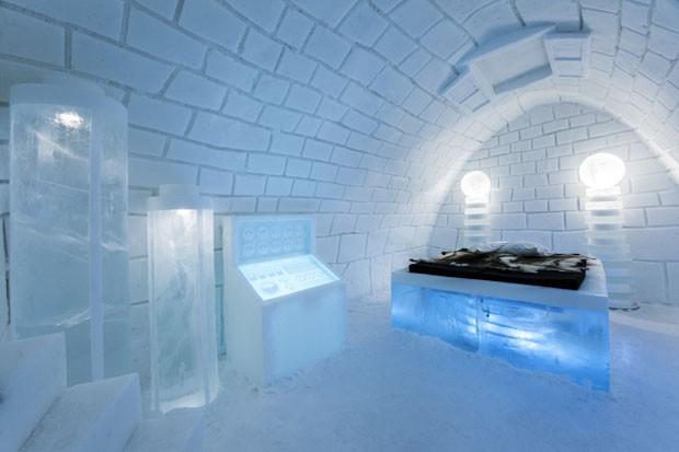 Icehotel ganha quarto inspirado em Frankenstein
