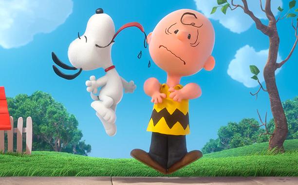 Peanuts filme em 3D de Charlie Brown e Snoopy
