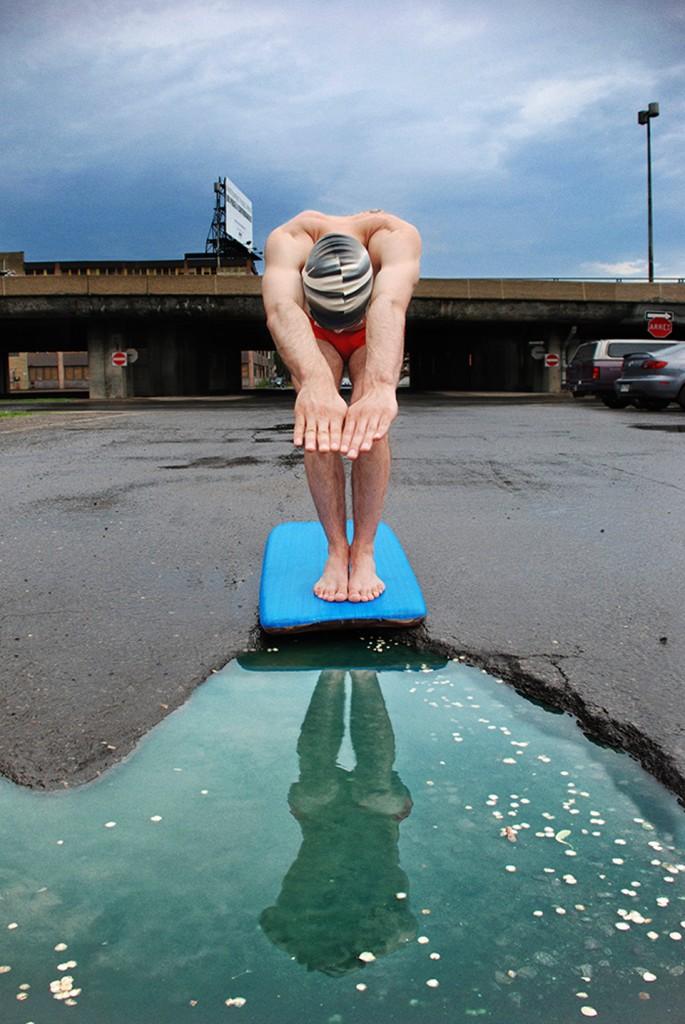 Série de fotos bem humoradas de buracos nas ruas