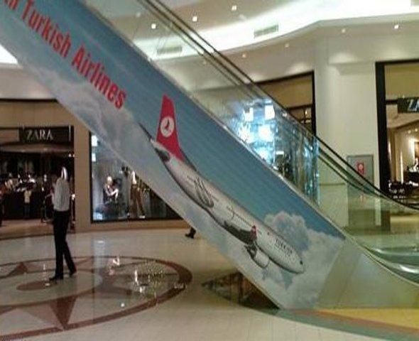 Se ao menos o pessoal da Turkish Airlines tivesse virado o avião no Photoshop...