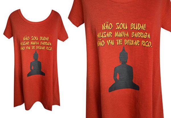 Não sou o Buda