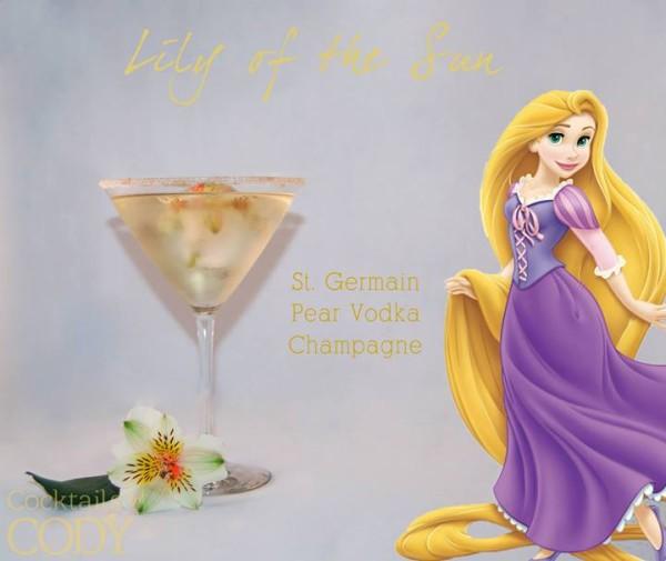 Drinks na forma de personagens da Disney