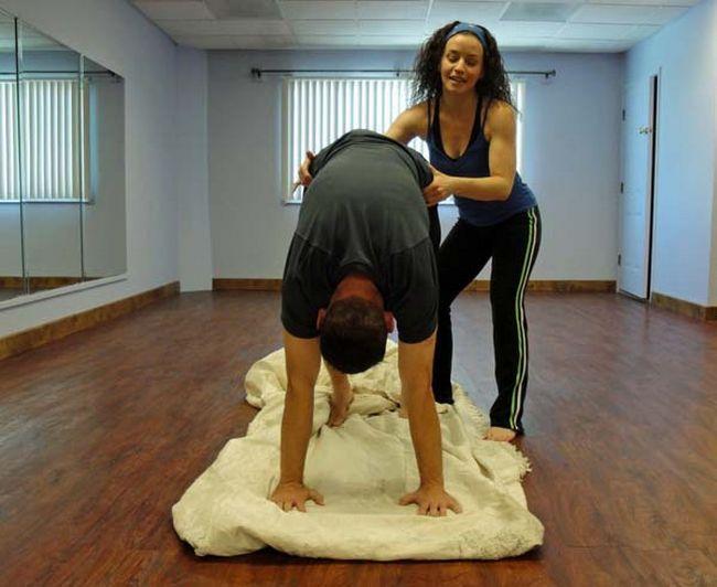 Apoio para Yoga