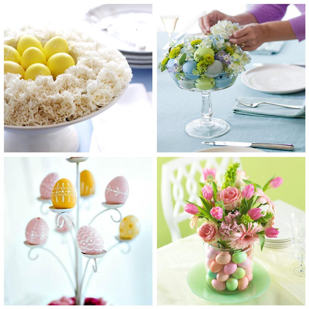 Arrumar uma linda mesa para receber a família na Páscoa