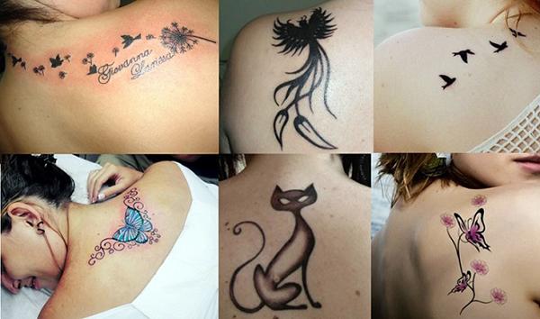 As mais lindas e delicadas tatuagens femininas