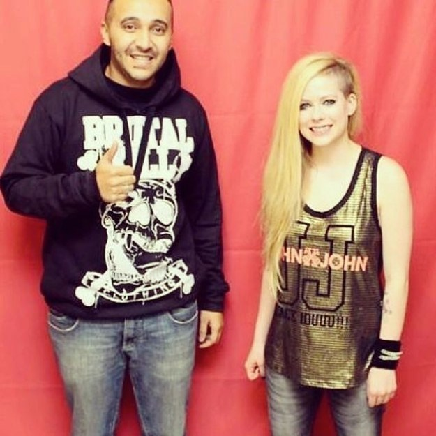 Meet And Greet com a Avril Lavigne