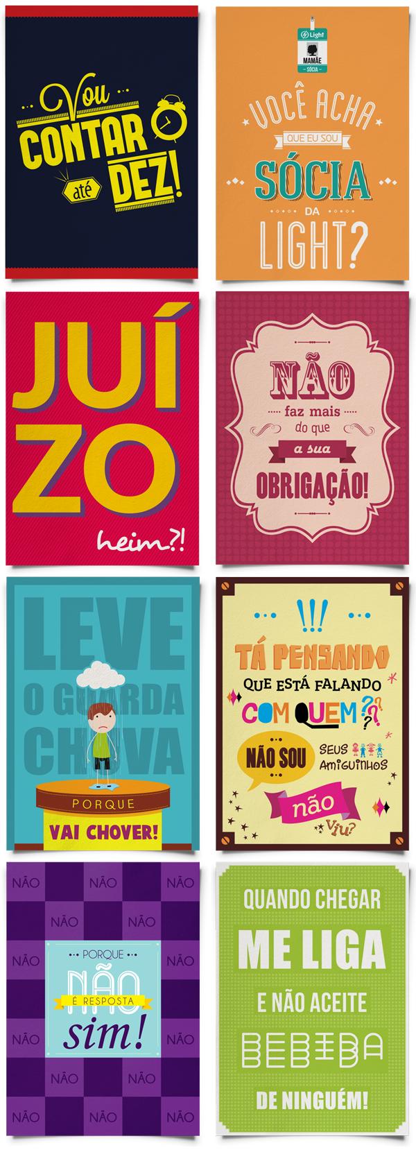 Cartazes Criativos Com Frases de Mães