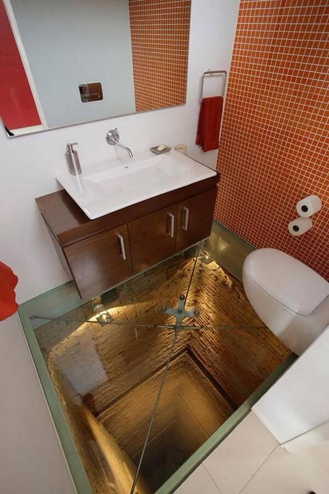 Banheiro para corajosos