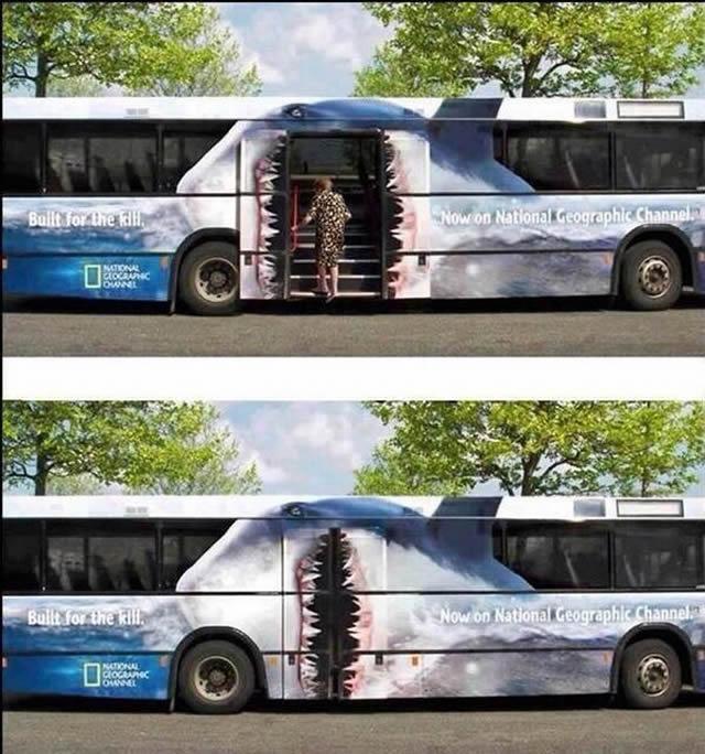 Anúncio interativo no ônibus II