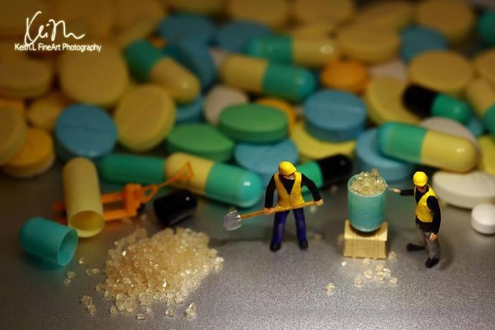 Os vendedores de remédio a kilo