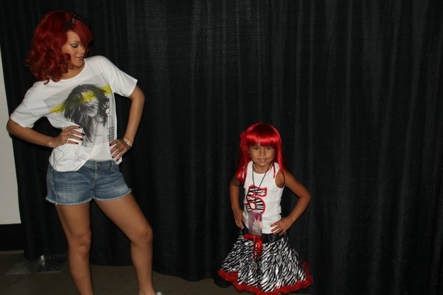 Meet And Greet com a Rihanna