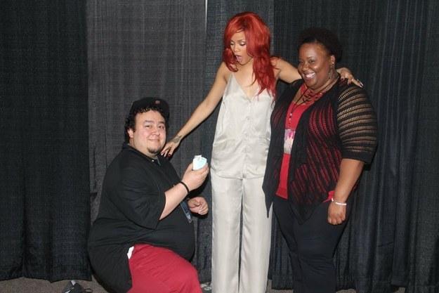 Meet And Greet com a Rihanna