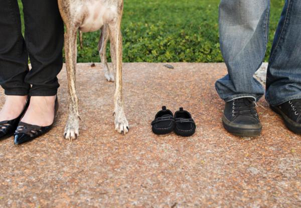 Todos juntos  Toda a família reunida à espera do bebê.  Foto: Quitandoca Fotografia.