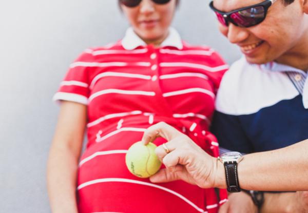 Desse tamanhozinho  Comparar o tamanho do bebê com objetos palpáveis sempre rende boas imagens.  Foto: Panoptes Fotografia Criativa