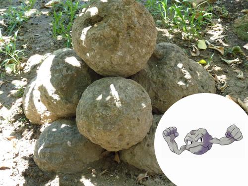 Geodude Inspiração: ...Pedras