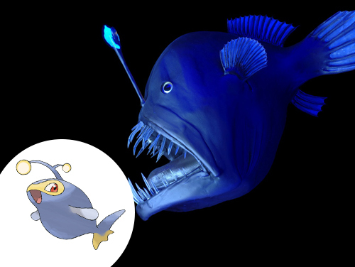 Lanturn Inspiração: Peixes abissais