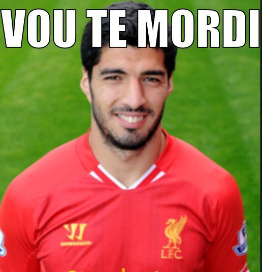 Memes sobre a mordida de Suárez