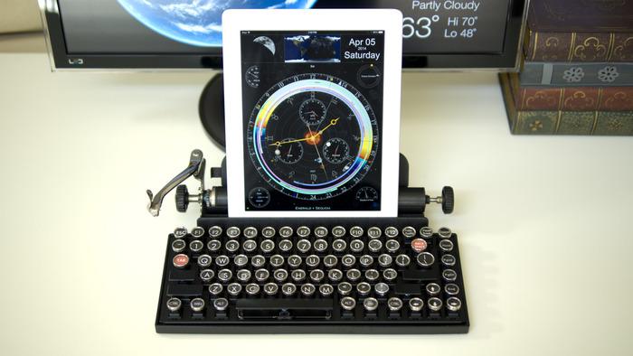 Qwerkywrite – Máquina de escrever para Tablet