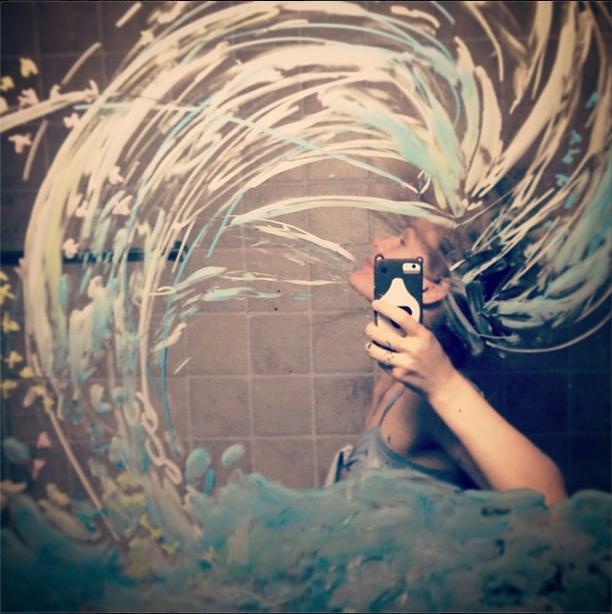 Fotos Criativa no Espelho de Helene Meldahl