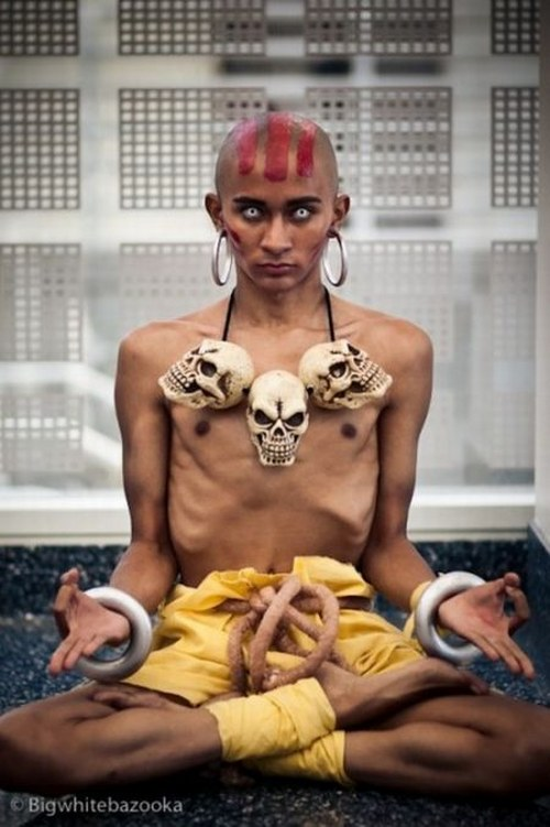 Cosplay Dhalsim de Street Figther