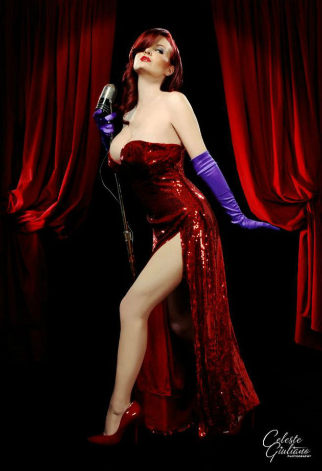 Cosplay Jessica Rabbit