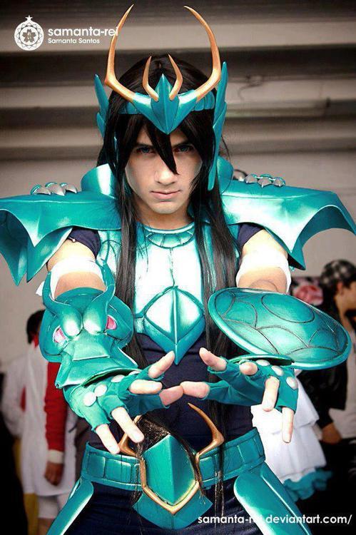 Cosplay  Shiryu Cavaleiros do Zodíacos
