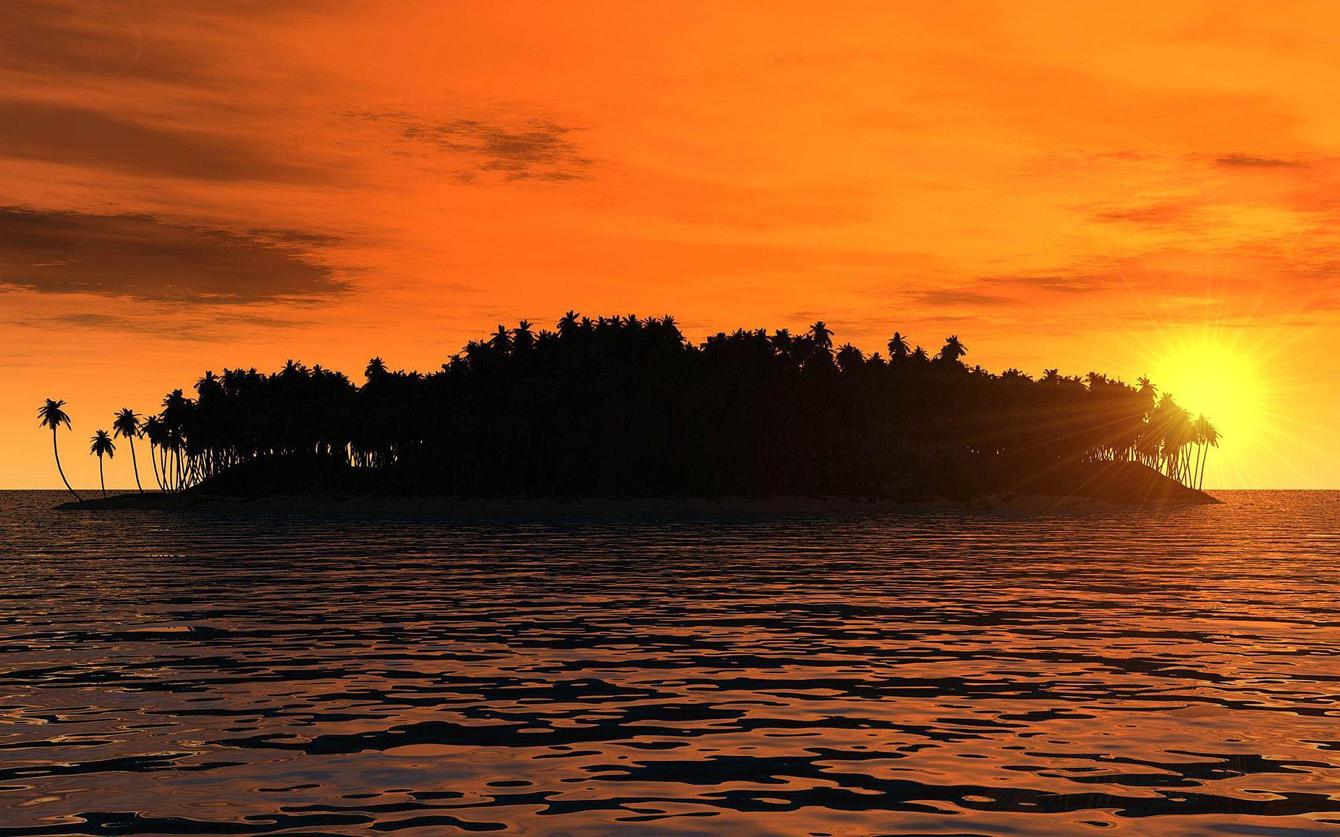 Tropical Islands - Por do Sol