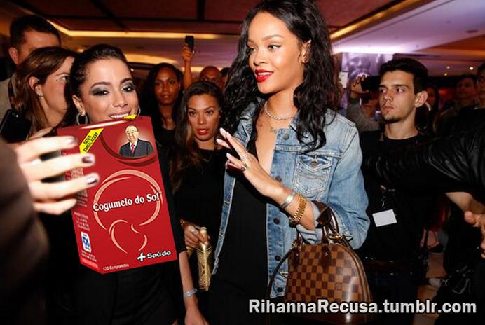 Rihanna recusa Cogumelo do Sol