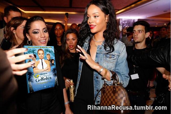 Rihanna recusa DVD Eliana em o Segredo dos Golfinhos