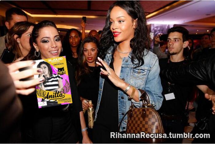 Rihanna recusa DVD da Anitta