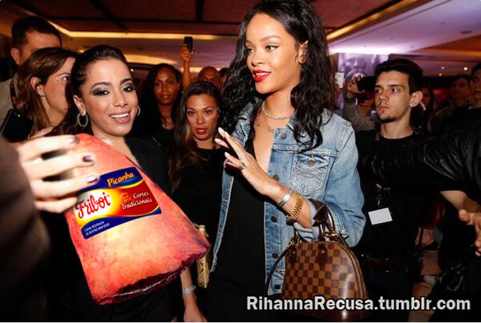 Rihanna recusa carne FriBoi
