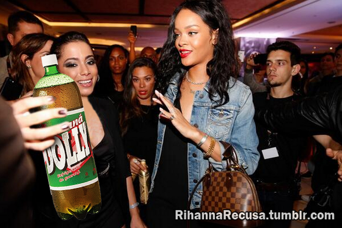 Rihanna recusa guaraná Dolly