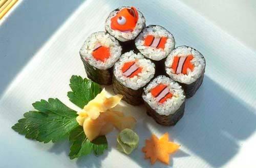 Sushi Procurando Nemo