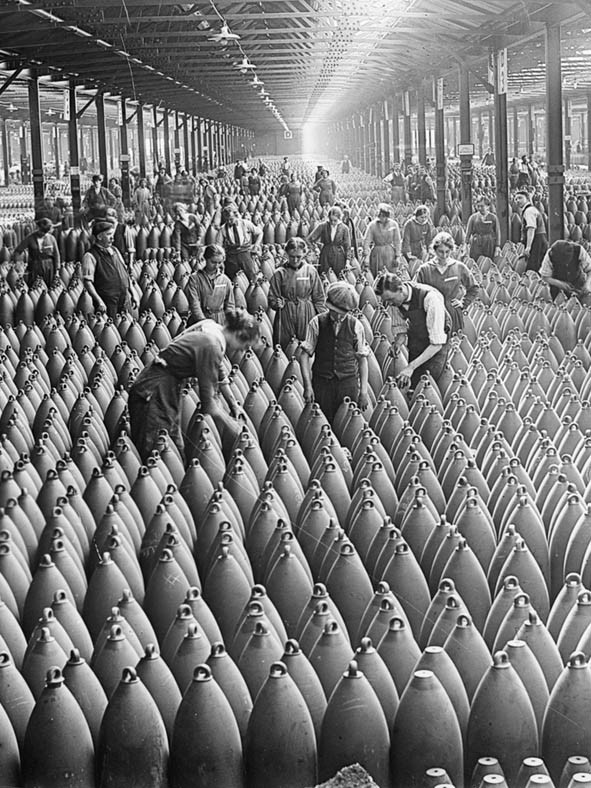 Fábrica de bombas na Inglaterra