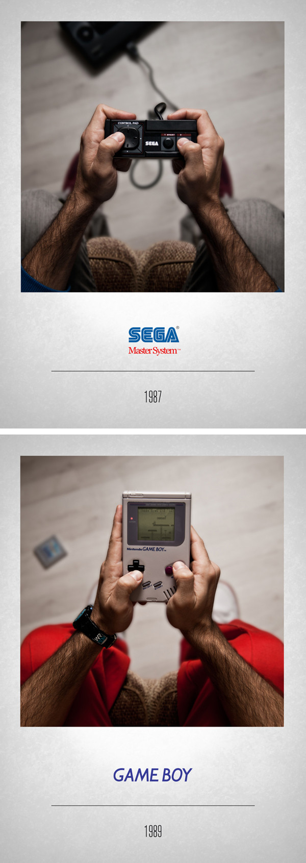Sega Master System 1987 – Game Boy 1989