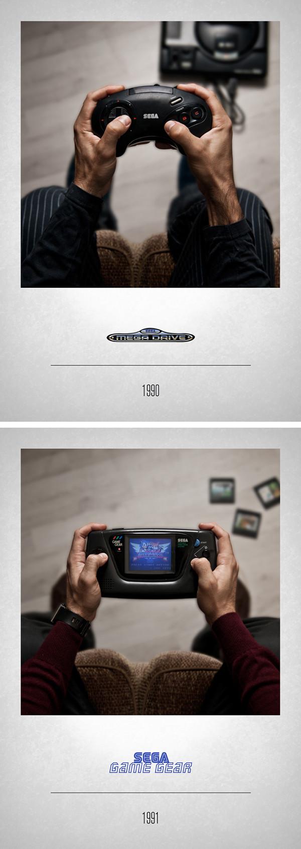 Sega Mega Drive 1990 – Sega Game Gear 1991